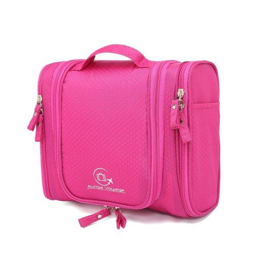 4366c869f5ce Auriga Voyage Premium Hanging Toiletry Travel Organiser. Strong Light  Waterproof Multipocket Shower & Shaving Wash Bag. Bathroom Cosmetic  Makeup...