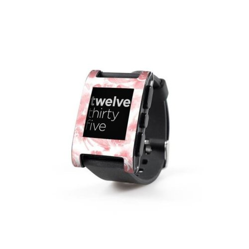 DecalGirl PWCH-WASHEDOUT Pebble Watch Skin - Washed Out Rose