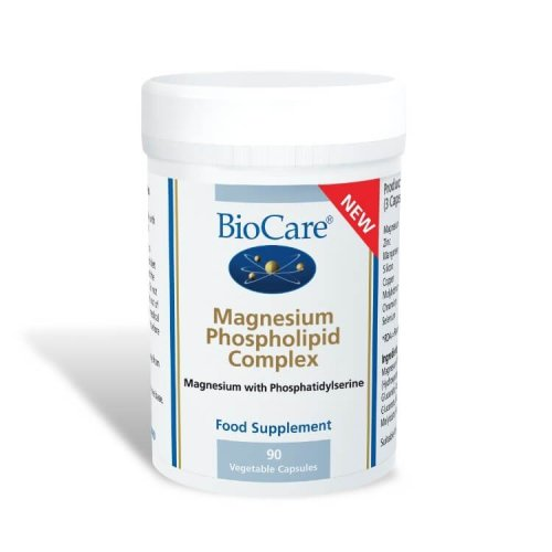 Biocare Magnesium Phospholipid Complex, 90 vegetable capsules