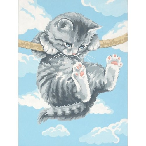 Dpw91226 - Paintsworks Learn to Paint - Hang on Kitty