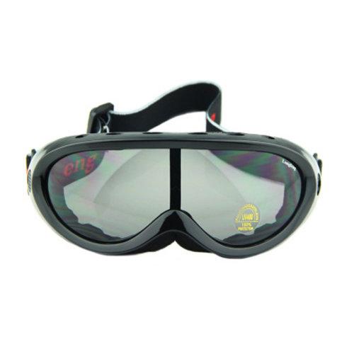 Snow Goggles Windproof Eyewear Ski Sports Goggle Protective Glasses Black/Grey