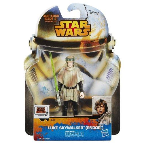 Star Wars New Hasbro Saga Legends Collection Luke Skywalker (Endor) Action Figure