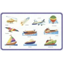 Creative Early Years Play And Learn Water & Air Transport Puzzle - Cre0611 -  cre0611 creative early years play learn water air transport