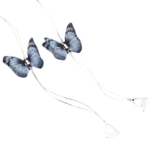 Invisible Replacement Bra Straps Butterfly Transparent Shoulder Strap, A01