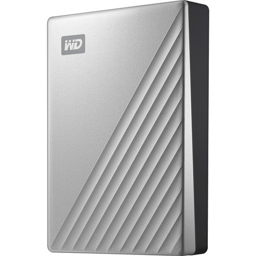 WD 4TB My Passport Ultra USB 3.0 Type-C WDBFTM0040BSL-WESN B&H
