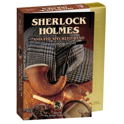 Sherlock Holmes and the Speckled Band Mystery Jigsaw Puzzle (1000 Pieces)