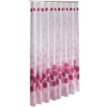 Home Decor Shower Curtain Waterproof Bath Curtain,71-inch by 79-inch Rose Flower