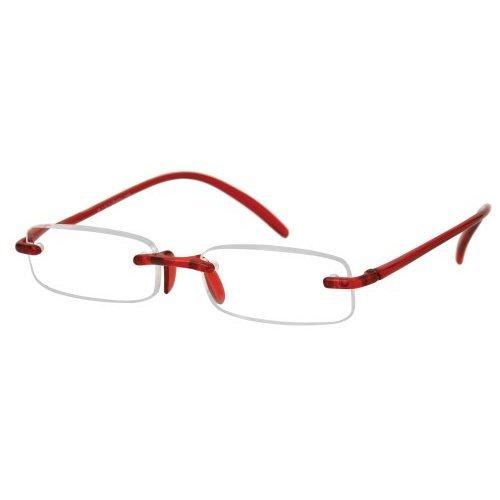 Sunoptic R69A Red Memo Flex Reading Glasses - Strength +3.50 Incl. Case