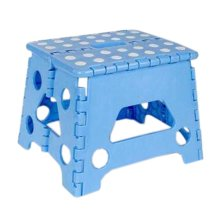 Creative Plastic Foldable Step Stool Portable Folding Stools Stepstool for Kids & Adults, No.9