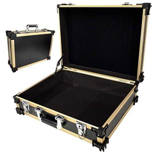 TZ Case STK-216 GBD Stackable Storage& Utility Case, Gold Black Dot