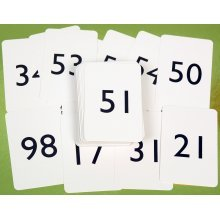 Numbered playing cards 1-100 ref. 00809