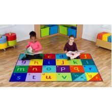 Childrens Rainbow™ Alphabet Carpet (MAT1060)