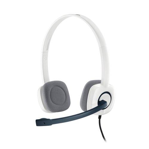 e9a5849dd42 Logitech H150 Binaural Head-band White headset on OnBuy