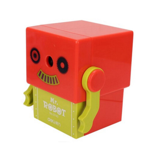 Pencil Sharpener,Robot, Quiet for Office, Home and School