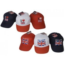 I Heart Great Britain Baseball Cap -