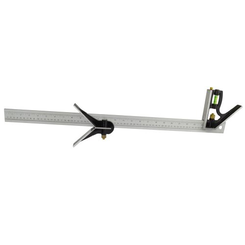 600mm Engineers Combination Try Square Set Right Angle Spirit Level 24inch TE703