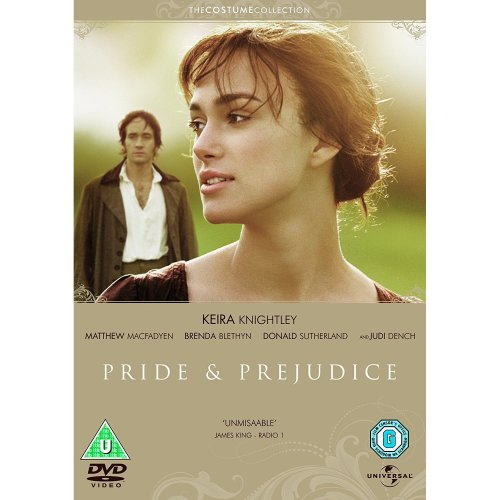 Pride and Prejudice [DVD] Brand New Sealed UK Region 2 - Keira Knightley