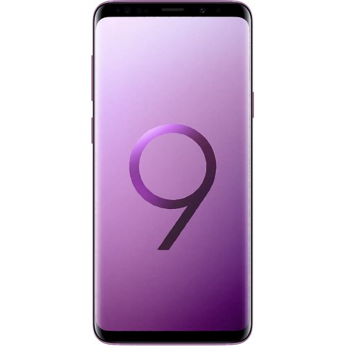 (Unlocked, 128GB) Samsung Galaxy S9+ Hybrid Sim - Lilac Purple