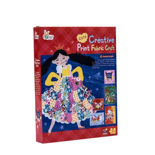 DIY Creative Cotton Prints Painting Book Craft Educational Toys