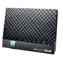 Asus Dsl-ac56u Dual-band (2.4 Ghz / 5 Ghz) Gigabit Ethernet 3g Black Wireless Router