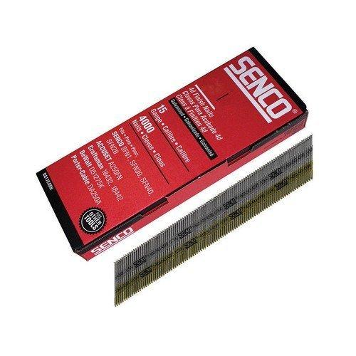 Senco DA25EAB Chisel Smooth Brad Nails Galvanised 18g x 64mm Pack of 4,000