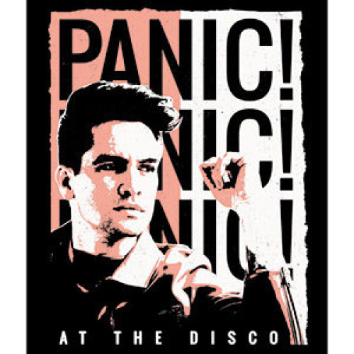 Sticker - Panic! At The Disco - Duotone New Toys s-8261