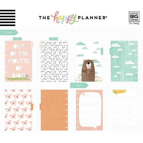 Happy Planner Mini Journaling Notebook W/80 Sheets-She Said