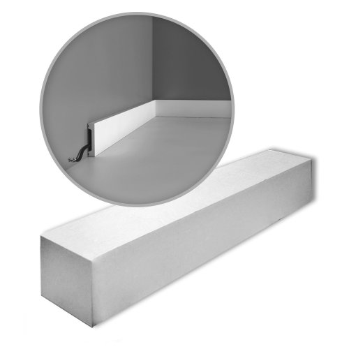 Orac Decor SX157-box AXXENT SQUARE Skirtings 1 Box 39 pieces | 78 m