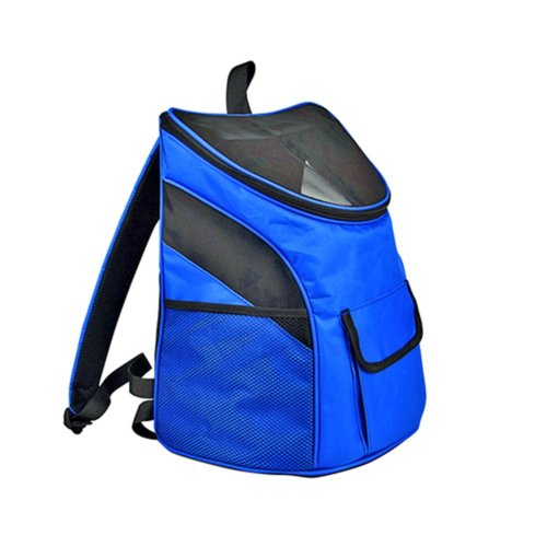 Pet Carrier Soft Sided Travel Bag for Small dogs & cats- Airline Approved, Blue #10