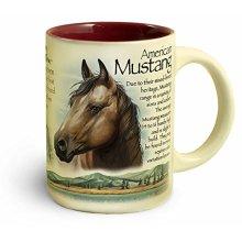 American Expedition Wildlife 16-Ounce Ceramic Mug (American Mustang)