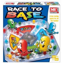 Race To Base Board Game Children Adult Family Fun