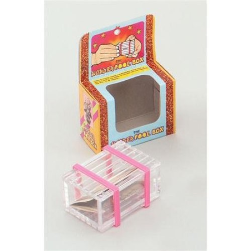 Wonder Fool Box Magic Trick - Magician Tricks Fancy Dress Adult All Kinds Gift -  magic magician trick tricks fancy dress adult all kinds box wonder