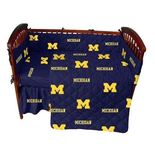 College Covers MICCS Michigan 5 piece Baby Crib Set