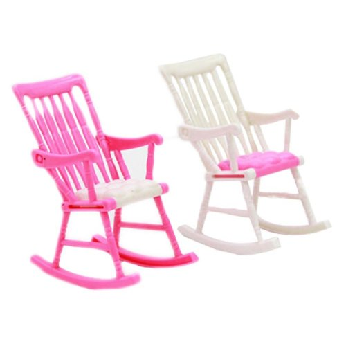 Luxurious 11.5'' Doll House Living Room Furniture Set-Chair (Color May Vary)