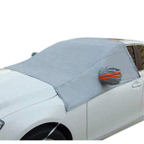 Auto Windshield Snow Cover All Seasons Visor Protector For SUVs Car Windshield Cover In Winter #1