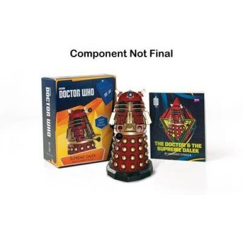 Doctor Who: Supreme Dalek and Illustrated Book
