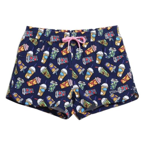 Quick-drying Beach Pants Women's Vacation Swimsuit Beach shorts,L Size,C6