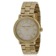 Marc Jacobs Riley Gold-Tone Ladies Watch MJ3470