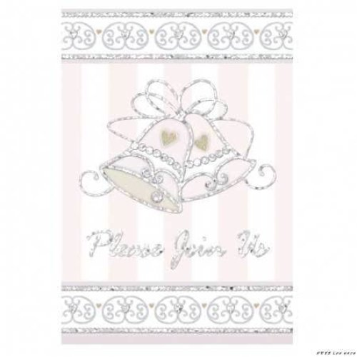 Dazzling Bells Invitations
