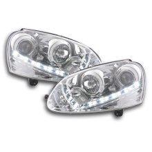 DRL Daylight headlight  VW Golf 5 Year 03-08 chrome