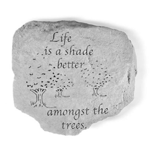 Kay Berry- Inc. 65020 Life Is A Shade Better - Garden Accent - 11 Inches x 10 Inches