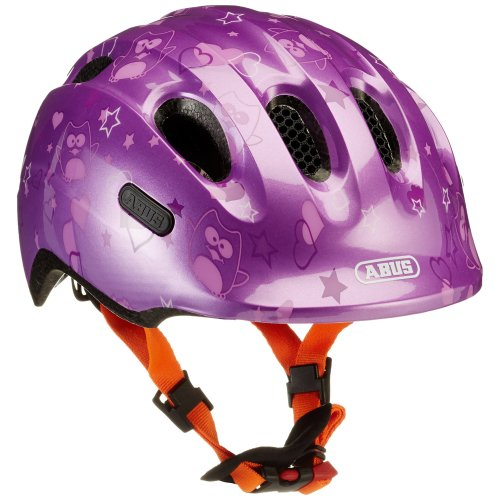 137d8819e2e ABUS Girl Smiley 2.0Â Bicycle Helmet, Girls, Smiley 2.0, purple star on  OnBuy
