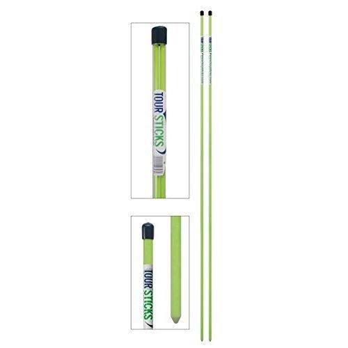 Tour Sticks Golf Alignment Stick (Green)