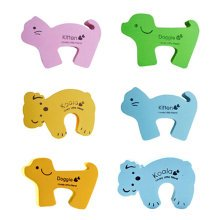 Set of 5 Lovely Animal Elasticity Door Stop/Holder Random Delivery 5.5*3.5""