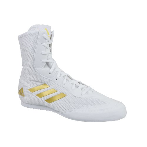 Adidas Box Hog Plus Shoes DA9899 Mens White sports shoes