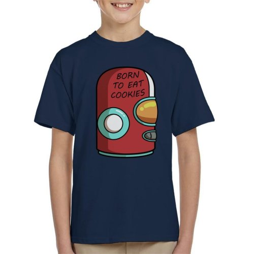 Final Space Gary Born To Eat Cookies Kid's T-Shirt