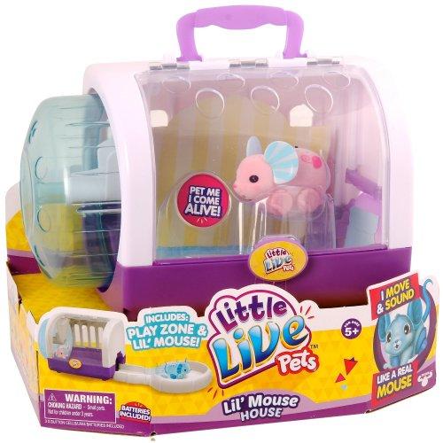 """Little Live Pets """"Series 2 L'il Mouse House"""" Playset"""
