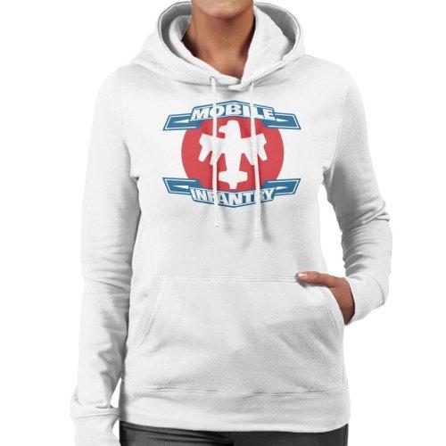 Mobile Infantry Logo Starship Troopers Women's Hooded Sweatshirt
