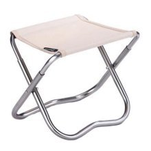 Portable Folding Chair Stool Camping Chairs Fishing Train Travel Paint Outdoor, Light Khaki