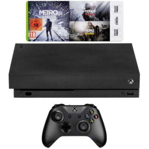 Microsoft Xbox One X 1TB Metro Saga Bundle